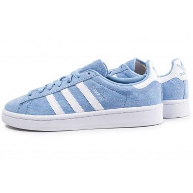 adidas campus bleu clair femme