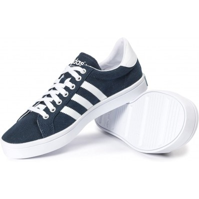 adidas court vantage bleu marine