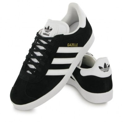 adidas gazelle femme noir et blanche