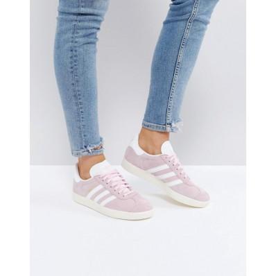 adidas gazelle rose pale femme