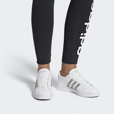 adidas grand court femme blanche