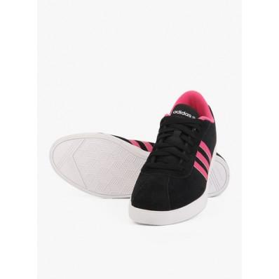 adidas neo femme noir et rose