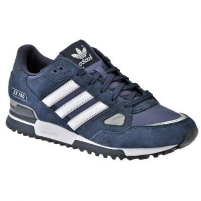 adidas originals baskets zx 750 homme bleu moyen