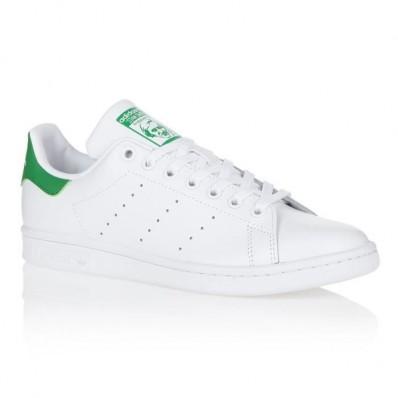 adidas stan smith femme blanc vert