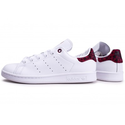 adidas stan smith femme rouge