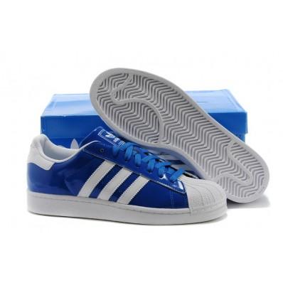adidas superstars femme original bleu