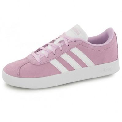 adidas vl court 2.0 femme rose