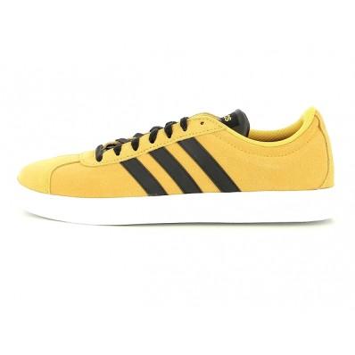 adidas vl court jaune