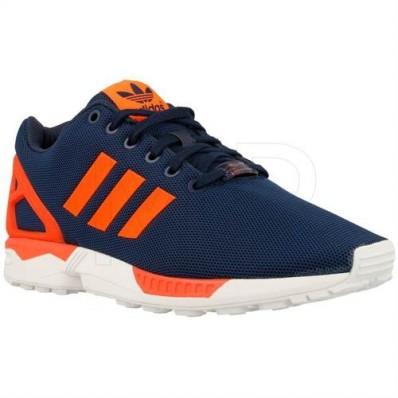 adidas zx flux bleu et orange