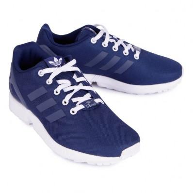 adidas zx flux bleu rouge