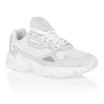 basket adidas femme falcon blanche