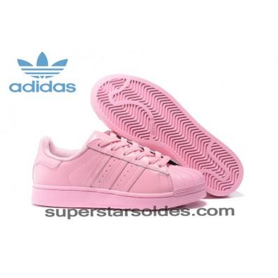 basket adidas femme superstar rose