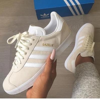 basket adidas gazelle femme beige