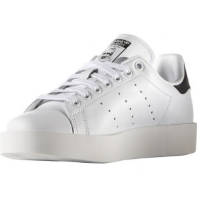 baskets compensees adidas stan smith bold rose femme
