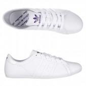 adidas campus round blanche