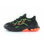 adidas ozweego noir orange vert