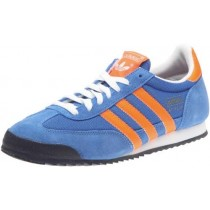 adidas dragon bleu orange adulte