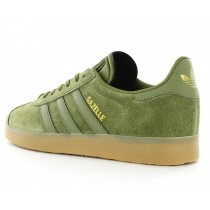 adidas gazelle kaki gum