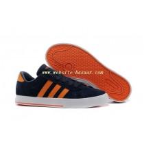 adidas neo gris et orange