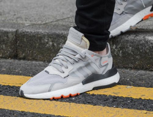 adidas nite jogger homme grise