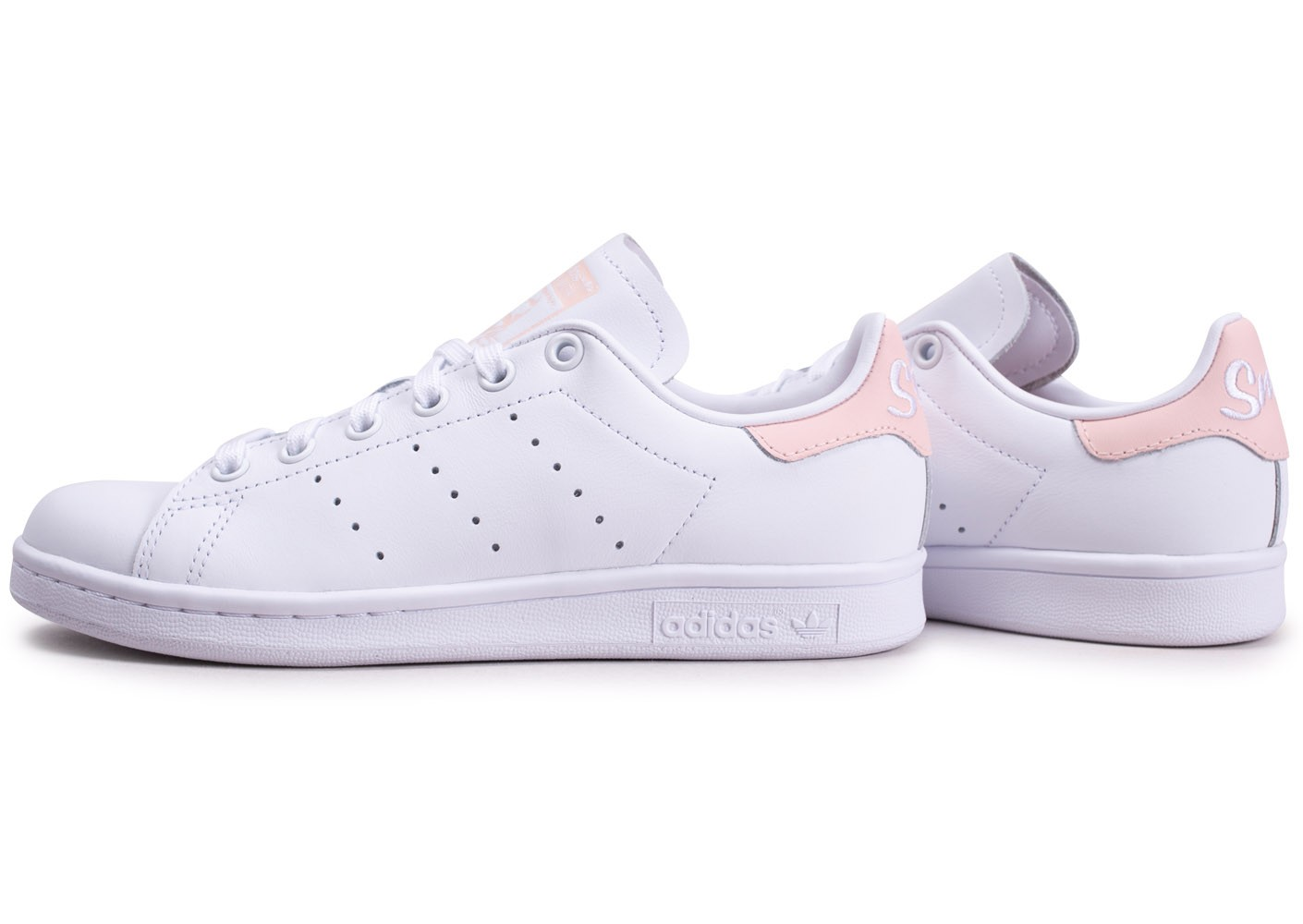 adidas stan smith femme rose et blanche