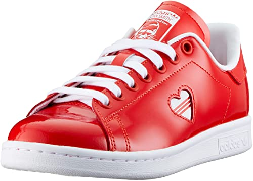 adidas stan smith femme rouge vernis