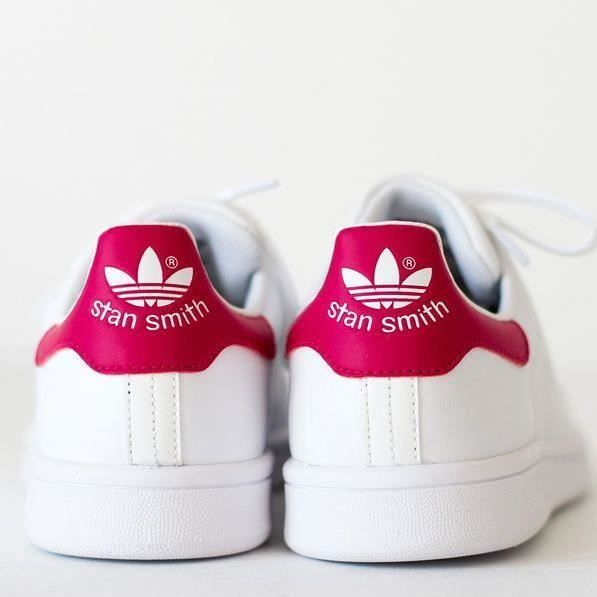 adidas stan smith femme scratch rose